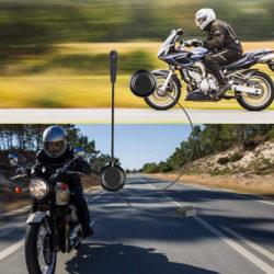 Auriculares bluetooth 4.1+CSR con micro para motos por 23,79€ con código.