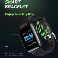 """Smartwatch Explopur, pantalla TFT OLED 1,3"""", 5 colores, Android/ IOS, IP67 por 9,60€ con código, antes 23,99€."""