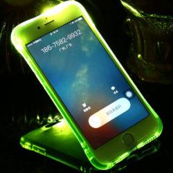 Fundas para iPhone con aviso de notificación por luz por 1,71€.