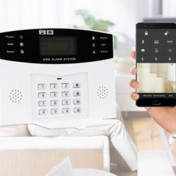 Alarma inalámbrica Owsoo GSM/SMS, sensor de movimiento, control remoto por 36,99€ con código, antes 54,99€.