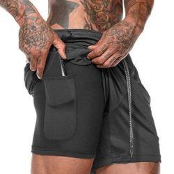 Pantalones cortos deportivos Lixada por 8,99€.