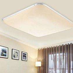 Lámpara de techo led, 36W, color blanco cálido 2880 lumens por 25,79€ con código, antes 42,99€; 40% de descuento en el resto de modelos.