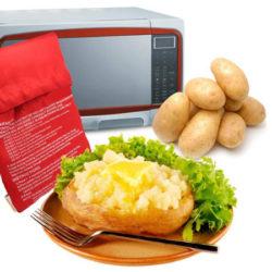 ¡Sigue bajando! Bolsa para asar patatas en microoondas en 4 minutos por 0,81€ en Amazon.
