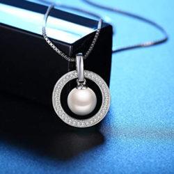 Colgante y cadena de plata J.Rosée con perla de agua dulce y circonitas por 5€ con código, antes 24,99€.