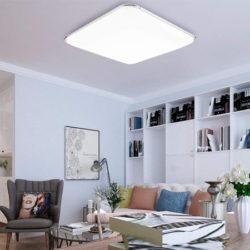 Solo hasta mañana; lámpara de techo led, 36W, color blanco frío, 3240 lumens por 25,79€ con código, antes 42,99€; 40% de descuento en el resto de modelos.