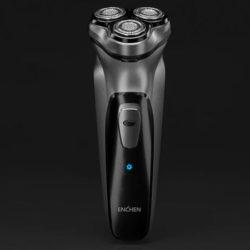 Maquinilla de afeitar Xiaomi Enchen BlackStone, triple cabezal flotante y autonomía de 90 minutos por 10,58€.
