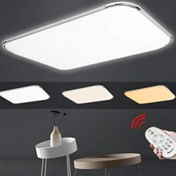 Plafón LED 48W ( 320/4320 Lumens) regulable con mando por 30,20€ con código, antes 52,99€; resto de modelos con un 40% de descuento con el mismo código.