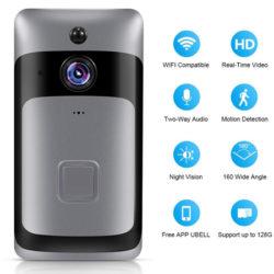 Timbre wifi con audio bidireccional, 1080P, detección de movimientos y visión nocturna por 28,99€ con código, antes 48,99€.