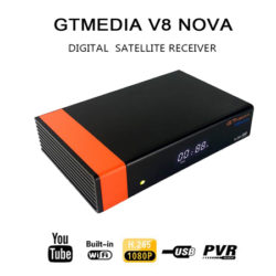Decodificador STB, HD 1080P, conectividad wifi GTMEDIA V8 NOVA por 36,99€ en Amazon, antes 48,99€.