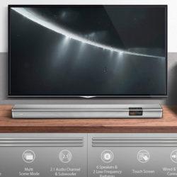 Barra de sonido bluetooth 4.2 BlitzWolf BW-SDB2, 60W, 6 altavoces+2 subwoofer, entrada óptica, Aux y USB a mitad de precio: por 65€ con código renovado, antes 129,99€.