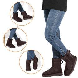 Botas de invierno para mujer calentitas, flexibles, impermeables y antideslizantes en seis colores por 18,59€ con código, antes 30,99€.