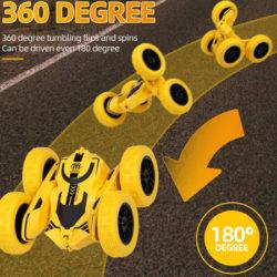 Se mete por todas partes; coche RC Goolsky Stunt Car, ruedas con giro 360º por 8,11€ este 11/11.