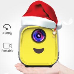 Mini proyector led para niños Aibecy por 41,99€ con código, antes 69,99€.