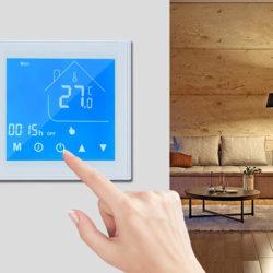 Termostato digital para sistemas de calefacción de suelo radiante por agua por 21,79€ antes 43,58€.