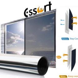 Vinilo autoadhesivo Essort anti UV y para mantener la privacidad en ventanas, 45 x 400cm por 9,99€ con código.