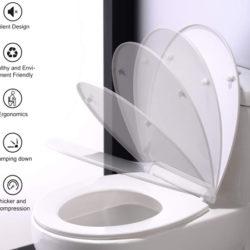 Asiento y Tapa universal para inodoros Homelody con cierre silencioso por 16,99€ con código.
