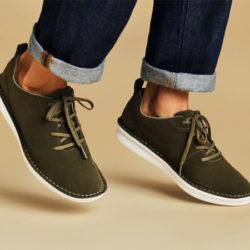 Zapatillas para hombre Clarks Step Welt Free por 37,76€, 4 colores, antes 79,90€.