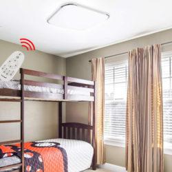 Solo hoy y mañana; lámpara de techo, para habitación, cocina, cuarto de baño Hengda Vingo, 24W, 2160LM con control remoto por 31,79€ con código, antes 52,99€. 40% en los otros dos modelos.