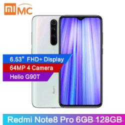 Redmi note 8 pro, 6/128GB, 4500mAh por 170€ con código.