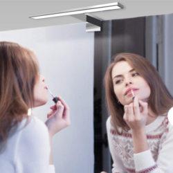 Aplique para espejo de baño LED Impermeable IP44 350LM Blanco Neutro por sólo 9,99€ con código de descuento.