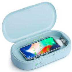 Desinfecta tu teléfono mientras se carga con el Gocomma UV por solo 25,62€.