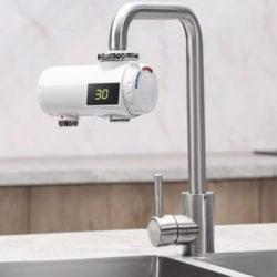 Calentador de agua instantáneo Xiaomi Mijia Xiaoda para cocinas o baños por 23,42€.