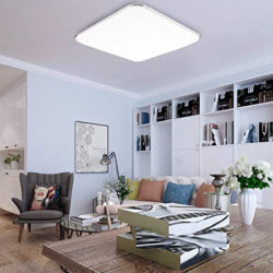 Lámpara de techo led, 24W, 2160 lumens por 23,18€ con código, antes 39,69€.