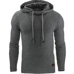 Sudadera con capucha Zimrio para hombre disponible en 8 colores por 11,99€ con código, antes 39,96€.