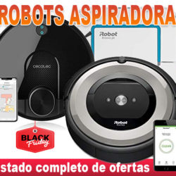 ¡Black week en Amazon! Descuentos de hasta el 51% en robots aspiradora: Roomba, Conga, Rowebta y Ecovacs.