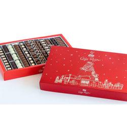 Nestlé Caja Roja Bombones De Chocolate Estuche Navidad edición limitada de 2Kg por sólo 29,95€; antes 40 euros.