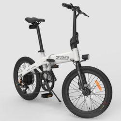 Bicicleta eléctrica Himo Z20 blanca o negra con potencia de 250W y 80Km de autonomía por 588,72€ y recíbela en unos días.