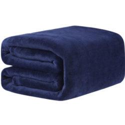 Manta Langria de microfibra para sofá o cama de 150x200cm por sólo 6,40€ con cupón descuento.