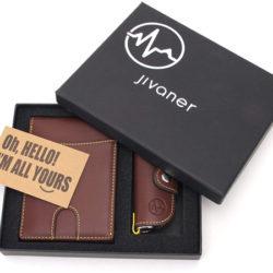 Cartera monedero con protección anti RFID y llavero estuche por 4,99€ con código, antes 19,95€.