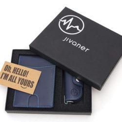 Cartera monedero con protección anti RFID y llavero estuche por 12,45€ con código, antes 24,90€.