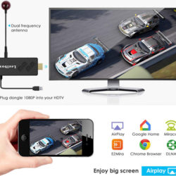 Leelbox TV Stick Android, 2GB/16GB, Dolby, Full HD, WiFi, 3D/4K, Streaming Media Player por 21,99€.