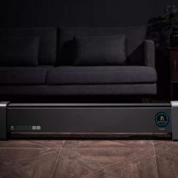 Radiador de placa Viomi internet Baseboard Electric Heater Pro, potencia 2200W, temporizador y control remoto por 123,93€ con cupón descuento.
