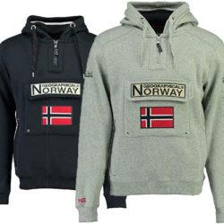Sudadera con capucha Geographical Norway por sólo 27,30€.