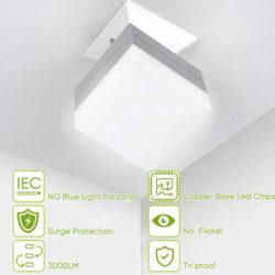 Bombilla LED Haofy, 30W/3500LM, diseño cuadrado por 5,99€ con código.