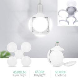 Lámpara Lixada con focos orientables, 40W, 4500 lúmenes por 11,99€ con código.