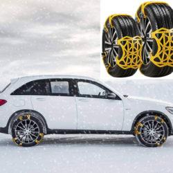 6 piezas de cadenas para nieve de fácil instalación por 22,22€ antes 38,89€.