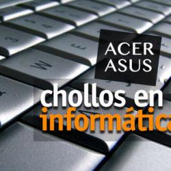Grandes descuentos en portátiles Acer y Asus.