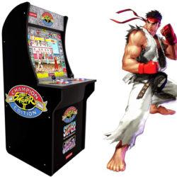 Arcade Street Fighter por 358,12€, antes 418,53€.