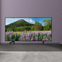 "SmartTV Sony KD55XF7004BAEP, sistema operativo Linux, 4K X-Reality PRO, soporte HDR, 55"" por 472,29€."