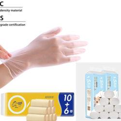 Códigos descuento en productos de protección e higiene.