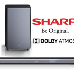 Barra de sonido bluetooth Sharp HT-SBW460 Dolby Atmos, subwoofer inalámbrico, 400W por 269,99€, antes 335€. Y Sharp HT-SB140MT 2.0 150W por 59,99€, antes 99,90€.