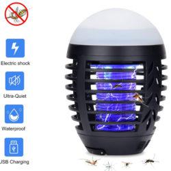 Lámpara antimosquitos impermeable con luz led, uso en interiores/exterirores, IP67, 2200mAh por 18,19€ antes 25,99€.