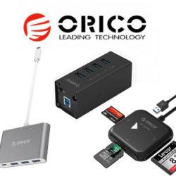 Nuevos productos de conectividad Orico a mitad de precio con códigos.