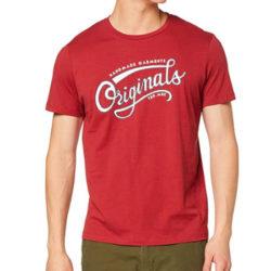 Camiseta de manga corta Jack & Jones Jorrafael Crew Neck para hombre desde sólo 5,67€.