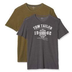 Lote de 2 camisetas de Tom Tailor Doppelpack Basic para hombre desde sólo 6,88€.