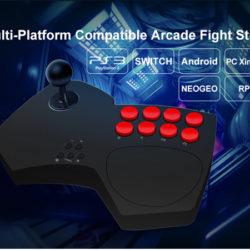 Arcade Fightstick Doyo S501 Nintendo Switch, PC, PS3, NeoGeo SNK mini, RPI, Android por 21,99€ con código, antes 43,99€.